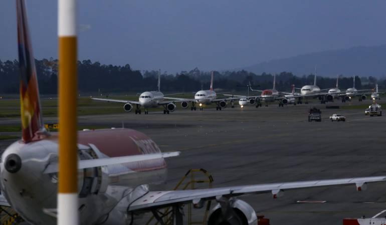 El clima provoca trastornos en la operación aérea