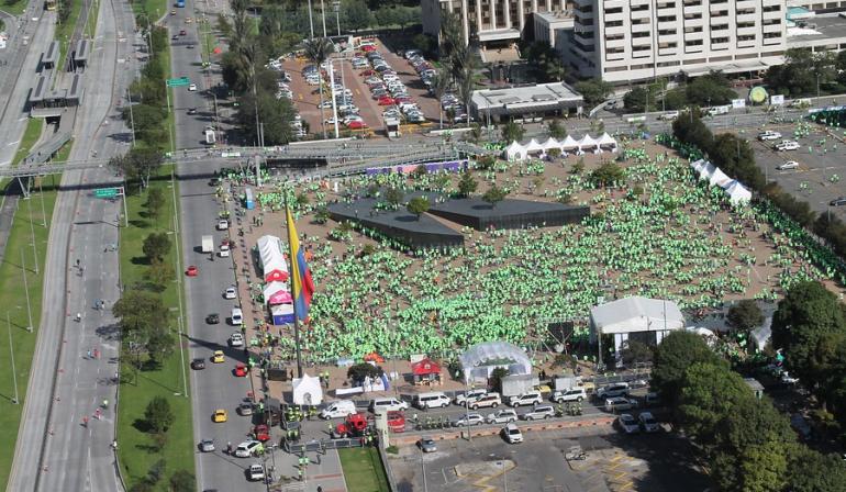Más de 8.000 personas participaron de la primera carrera por la Policía