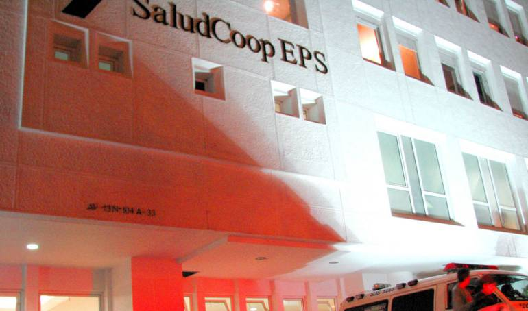 Edificio de Saludcoop