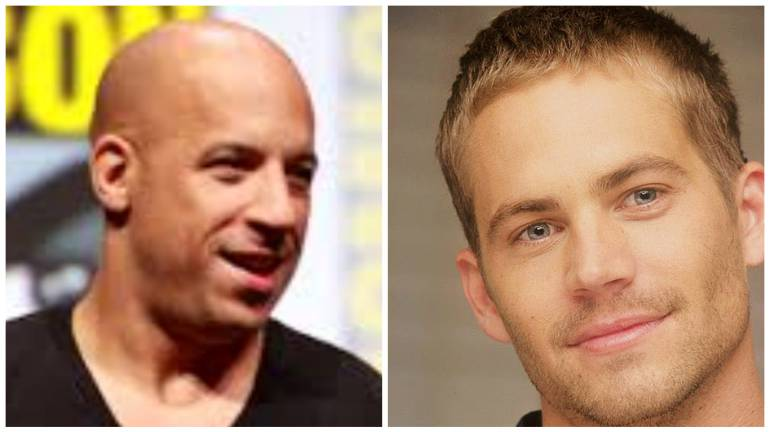 Vin Diesel y el recordado Paul Walker.