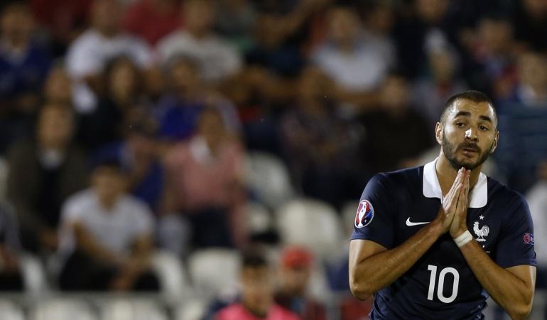 Federación Francesa suspenderá a Benzema en la Selección
