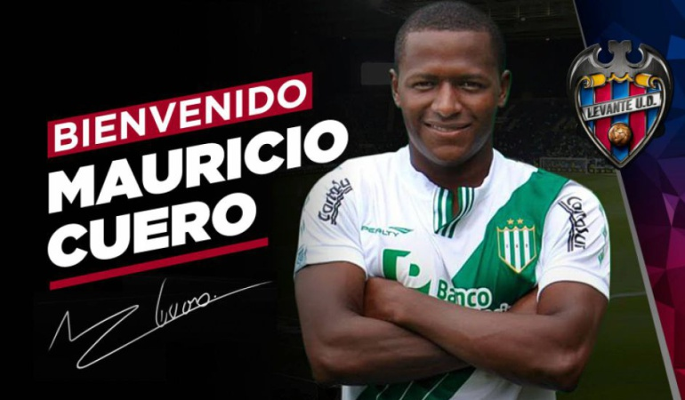 Mauricio Cuero llega a Valencia para cerrar su fichaje hasta 2020