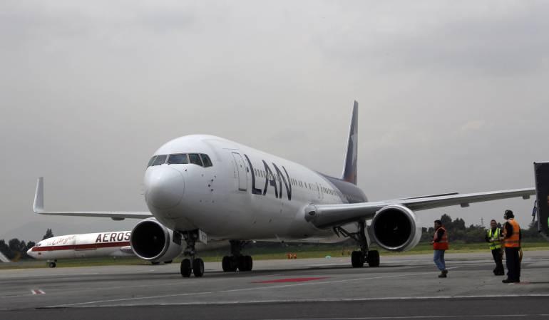 LAN Colombia anuncia cuatro vuelos semanales de Bogotá a Punta Cana