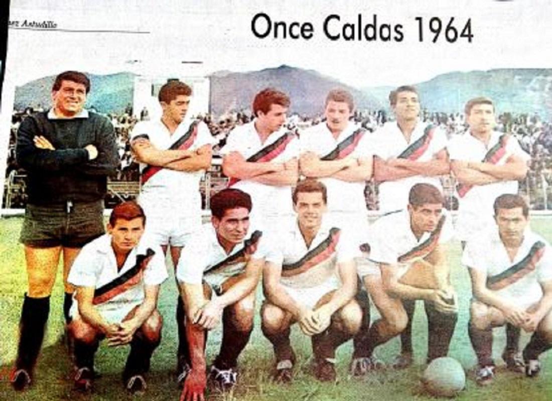 El Once Caldas de 1964