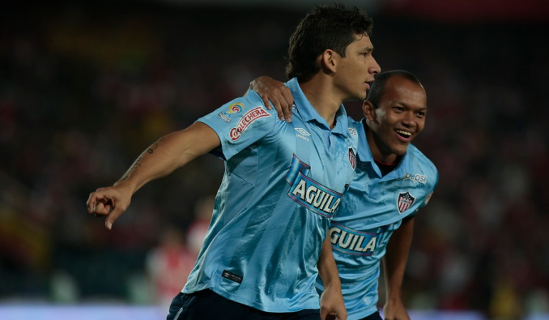 Roberto Ovelar, el hombre de los goles en el Junior de Barranquilla