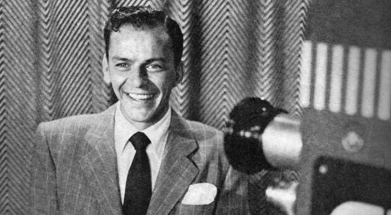 Frank Sinatra en 1950.