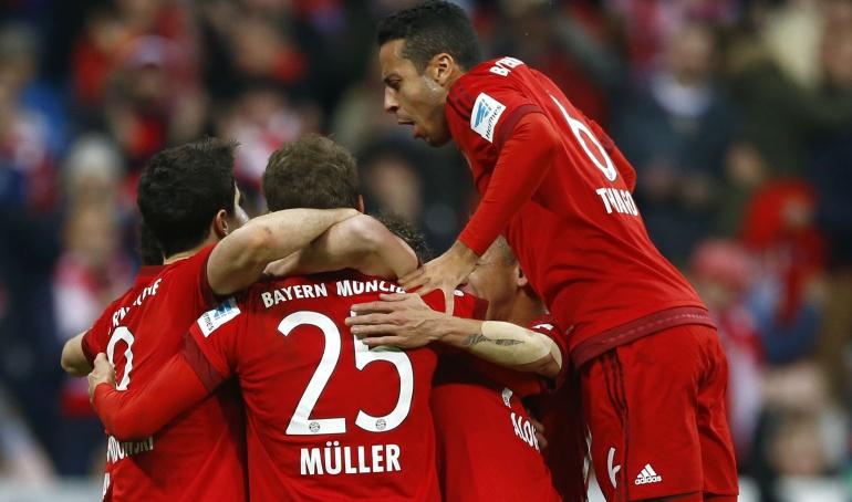 Thiago reaparece con el Bayern: Thiago reapareció después de su lesión muscular