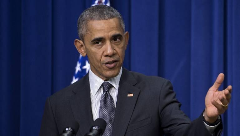"""Obama calificó de algo """"enorme"""" el acuerdo universal contra el cambio climático"""
