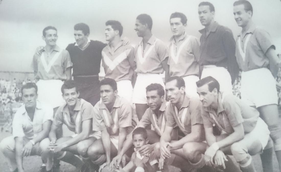 El Atlético Quindío, campeón de 1956