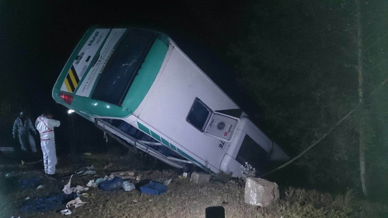 Accidente bus Zipaquirá: Accidente de un bus deja seis muertos y 20 heridos en Zipaquirá