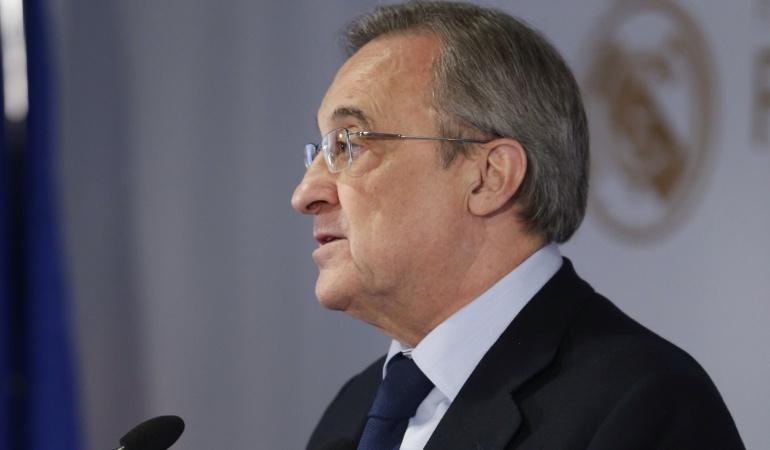 Confiamos en los jugadores y en su talento: Florentino Pérez