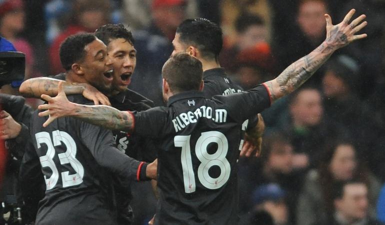 Liverpool derrotó al Stoke City y se acerca a la final de la Copa de la Liga