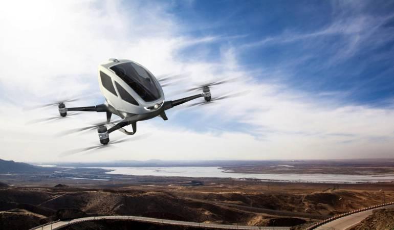 CES 2016: CES 2016: compañía china diseña dron para transportar personas
