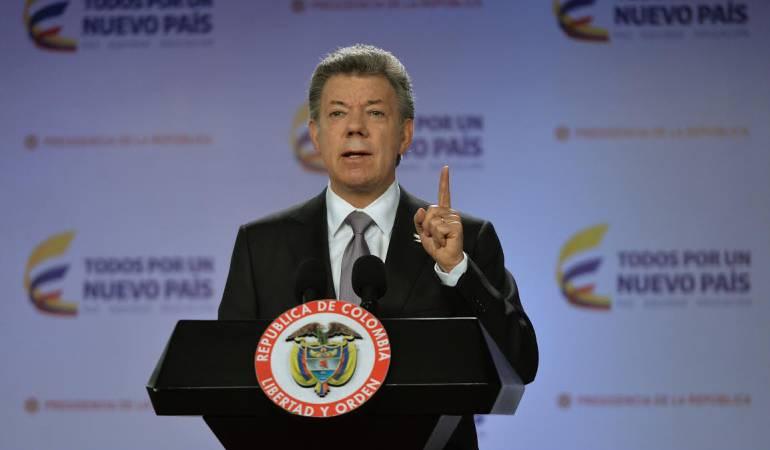 Proceso de paz con las Farc: El Gobierno llega a Cuba con voluntad política de firmar la paz antes del 23 de marzo: Santos
