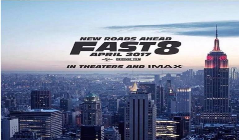 estreno de rápido y furioso 8, Vin Diesel: Rápido y Furioso 8: estreno en abril de 2017