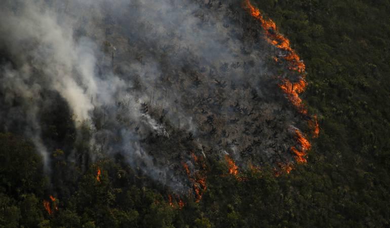 Alerta roja en 62% del territorio boyacense por incendios forestales: Alerta roja en 62% del territorio boyacense por incendios forestales