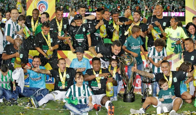 Atlético Nacional, campeón Liga Águila 2015-II