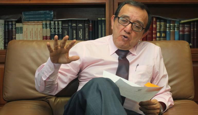 Proceso paz Colombia Corte Constitucional: En manos del magistrado Luis Ernesto Vargas quedó estudio del plebiscito