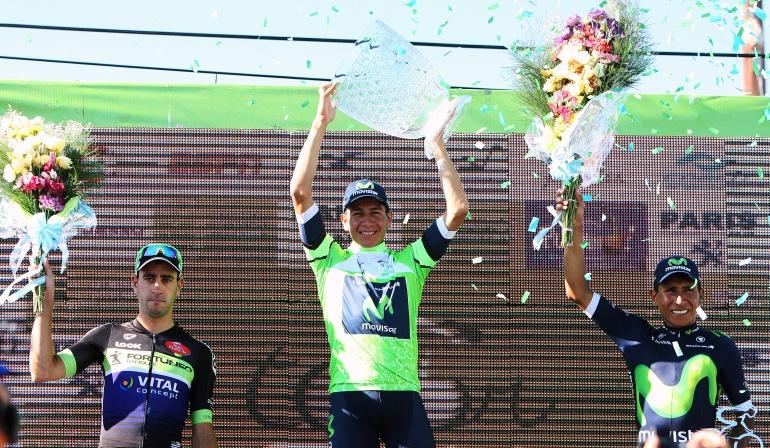 Dayer Quintana campeón del Tour de San Luis: Estoy lejos de Nairo, pero moriré en el intento por superarle: Dayer Quintana