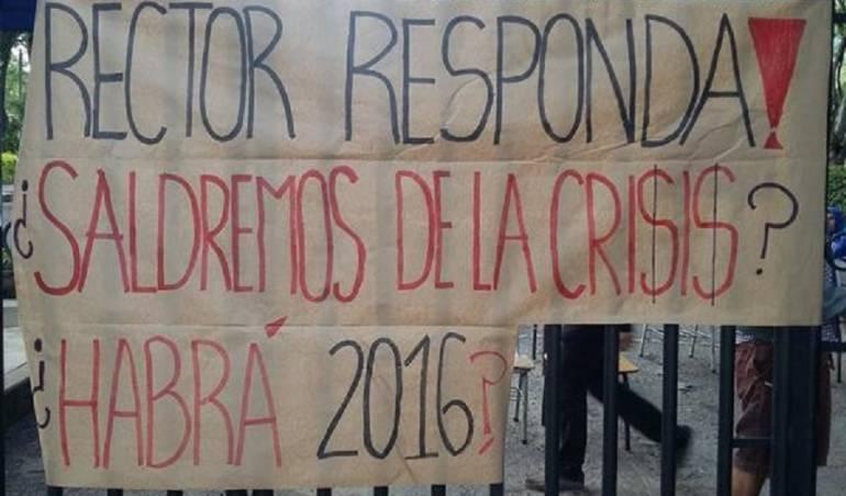 Tolima Crisis Financiera Protestas Universidad del Tolima: Crisis de la Universidad del Tolima genera protestas