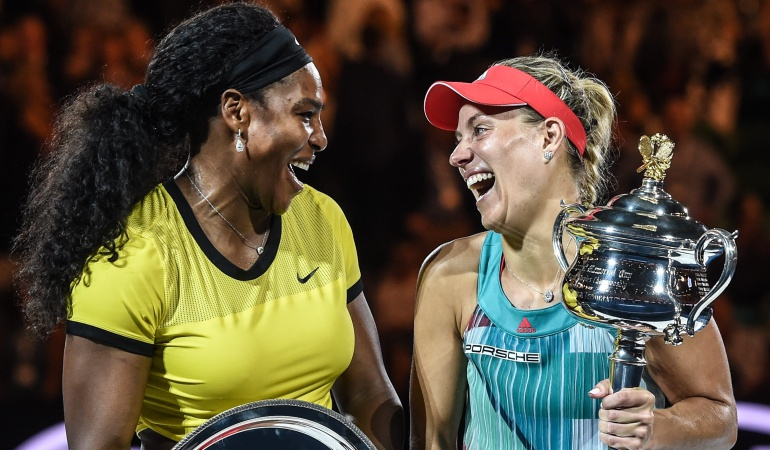 Kerber campeona Abierto de Australia: Kerber venció a la gran favorita y se quedó con el Abierto de Australia