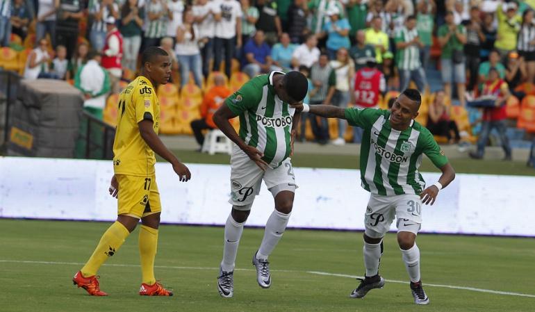 Orlando Berrío marcó doblete ante Alianza