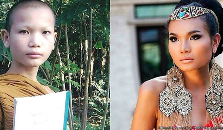 Mimi Tao Modelo Trans: La increíble transformación de un monje budista a una supermodelo trans