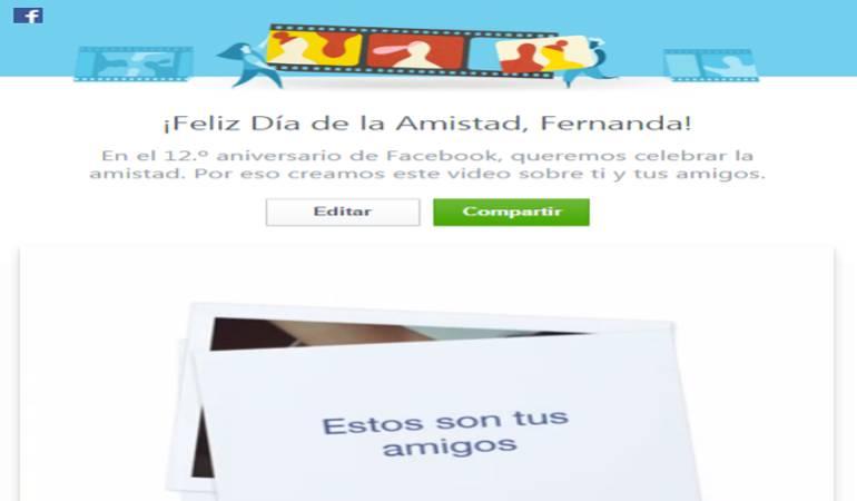 Cumpleaños 12º de Facebook: Facebook celebra el día de la Amistad