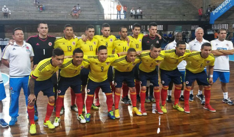 selecci n colombia eliminatorias sudamericanas f tbol sala On federacion de futbol sala