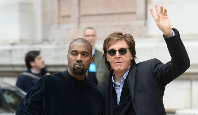 """Paul McCartney habla de la experiencia de trabajar junto a Kanye West: Paul McCartney sobre Kanye West: """"está un poco loco pero me encanta"""""""