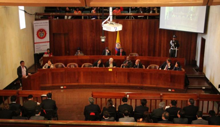 Corte Constitucional plebiscito entregar documentos: Congreso sigue sin entregar documentos para estudio del plebiscito