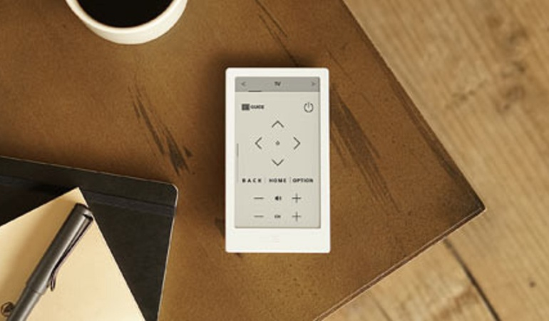 Sony HUIS, el mando universal que usa la tinta electrónica para innovar
