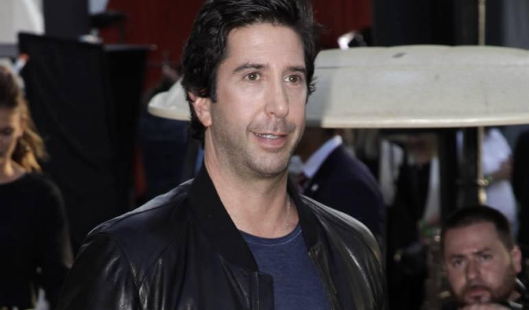 David Schwimmer, Ross en Friends, dice que la fama le causaba dolor: A 'Ross', de la serie 'Friends', la fama le causaba dolor