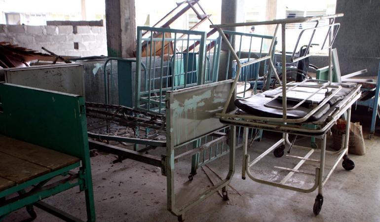En precarias condiciones de infraestructura se encuentra el Hospital San Francisco de Asís en Quibdó, Chocó, donde la Corte Constitucional adelantó una inspección judicial.