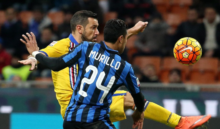 Inter gana a la Sampdoria fútbol de Italia: Inter venció a la Sampdoria ante los invitados Mourinho y Ronaldo Nazario