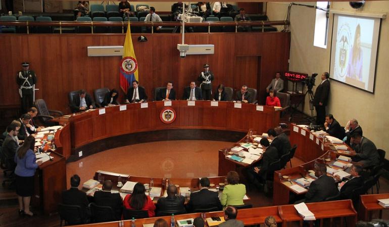 Corte Constitucional envió expediente del plebiscito al procurador: Corte Constitucional envió expediente del plebiscito al procurador