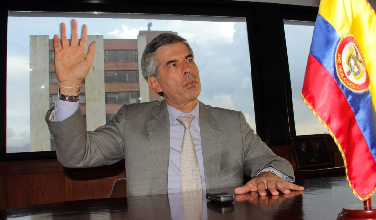 Yesdi Reyes, ministro de Justicia.