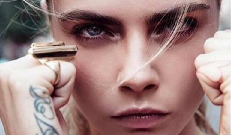 """Cara Delevingne: Una """"ola de acoso"""" anunciada por Cara Delevingne en Facebook"""