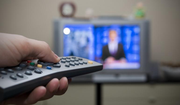 Televisor en los hogares colombianos.