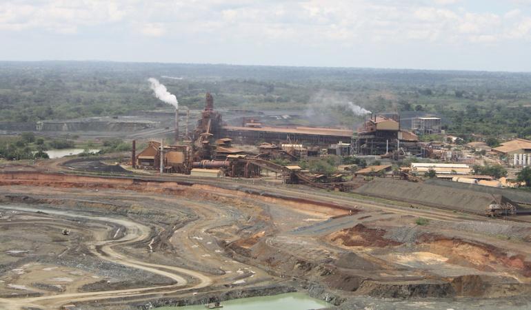 Minera colombiana Cerro Matoso