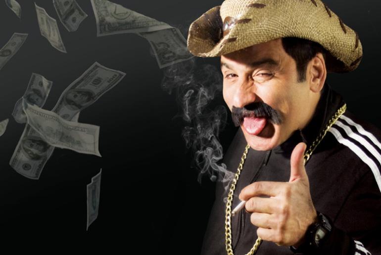 Robinson Díaz y 'La fiesta del cabo': su personaje de narco en Casa E y México: Robinson Díaz y las enseñanzas de un narco desde el teatro