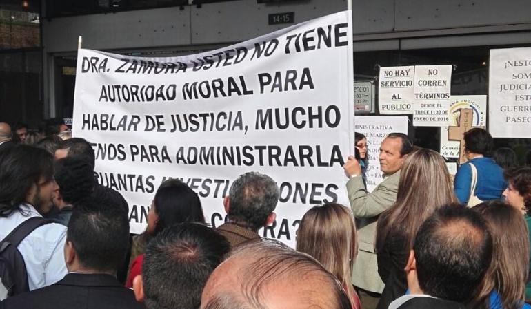 Permanecen cerrados los juzgados civiles y de familia en Bogotá: Cerrados permanecerán los juzgados civiles y de familia en Bogotá