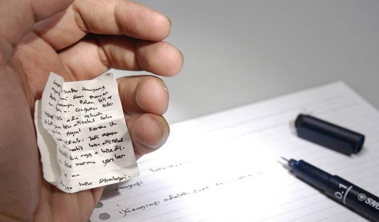 Cómo hacer trampa en los exámenes: La nueva tendencia para hacer trampa en los exámenes