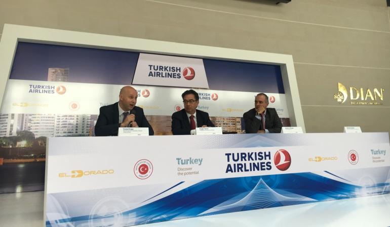 Turkish Airlines iniciará operaciones en Colombia desde el 4 de mayo: A partir del 4 de mayo Turkish Airlines iniciará operaciones en Colombia