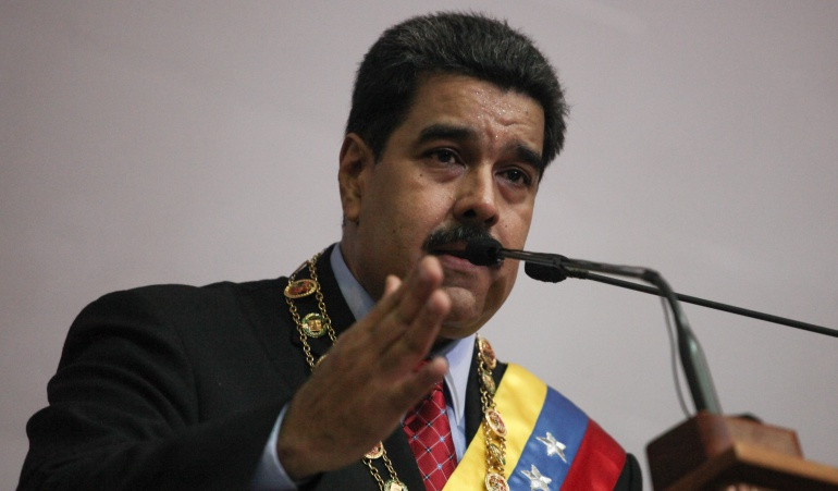 Presidente Maduro no esconde el hambre