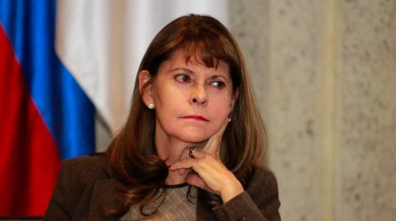 La excandidata presidencial Marta Lucía Ramírez.