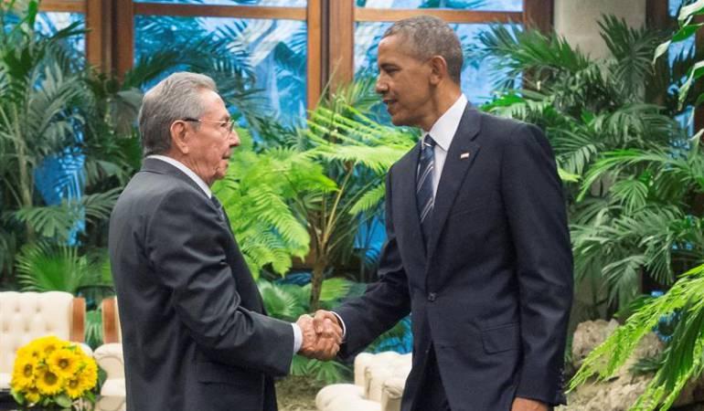 Presidente de Cuba pidió a Obama levantar el bloqueo que pesa contra su país