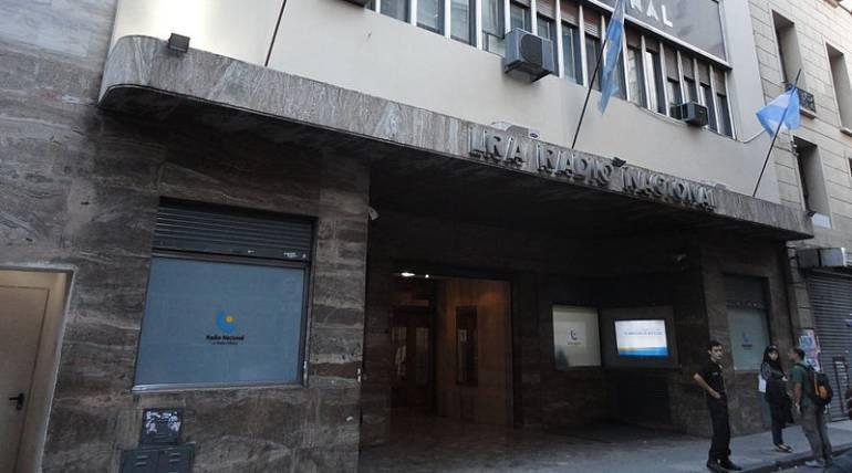 Edificio de Radio Nacional en Buenos Aires