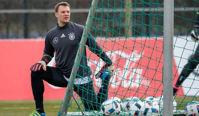 Cumpleaños 30 del arquero Manuel Neuer de la Selección de Alemania: Manuel Neuer celebra sus 30 años