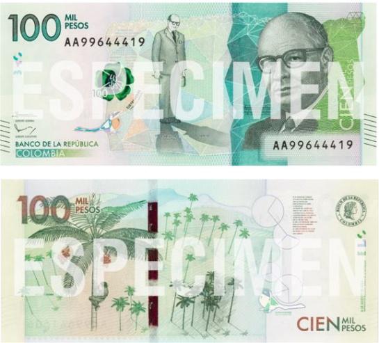 Proyecto de ley para para quitar los tres ceros del billete de 100 mil: La U radica proyecto de ley para quitar tres ceros a los billetes